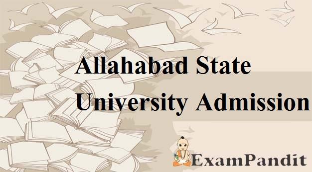 Allahabad State University Admission